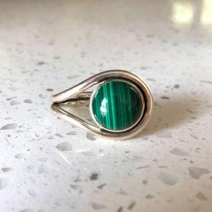Pamela Love Malachite silver ring